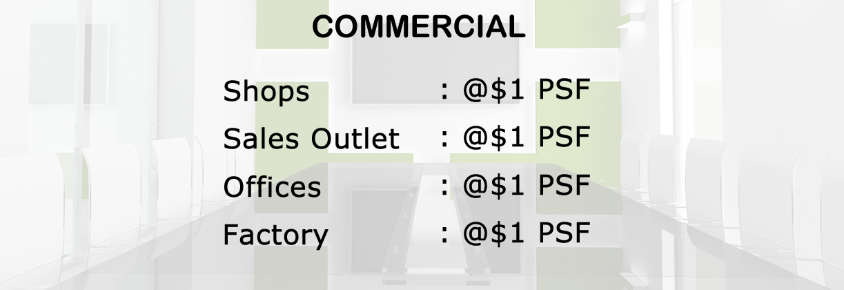 Commercial Services Amount